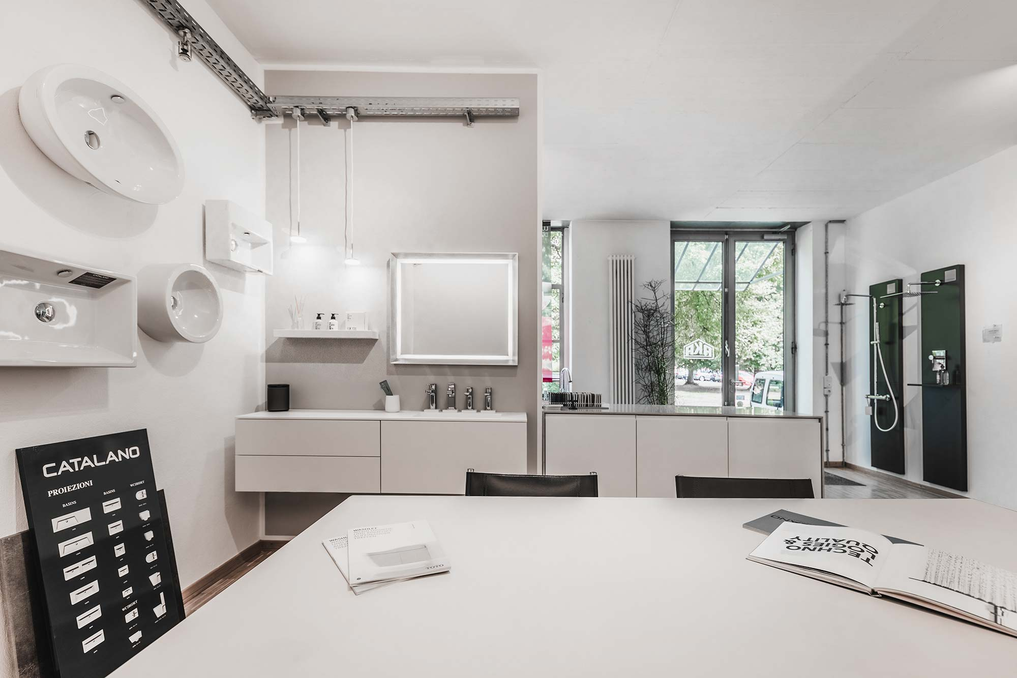 Badezimmer Ausstellung