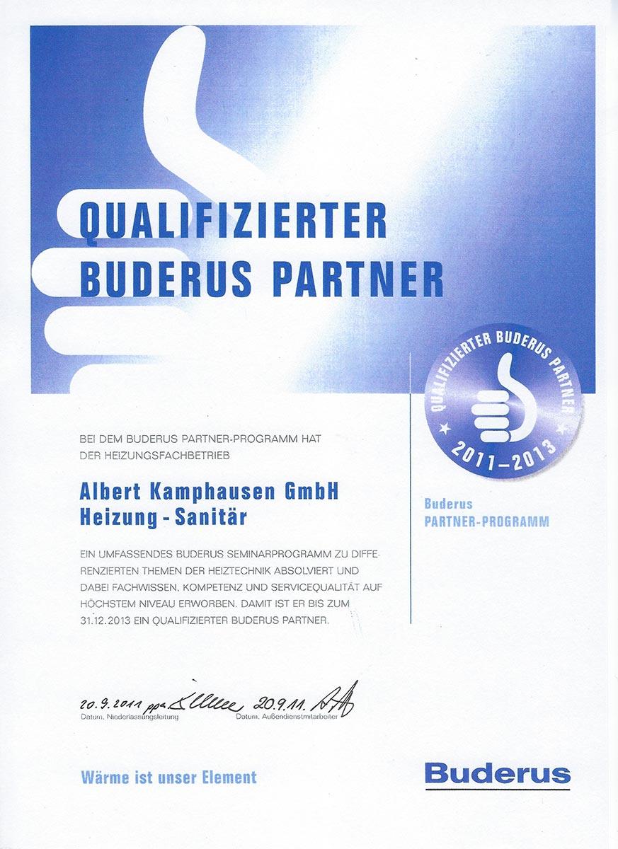 Buderus Partner